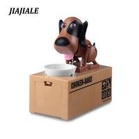 So Cute Piggy Bank Dog Super Fun Cartoon Money Boxes Automatic Stole Coin Saving Banks Money