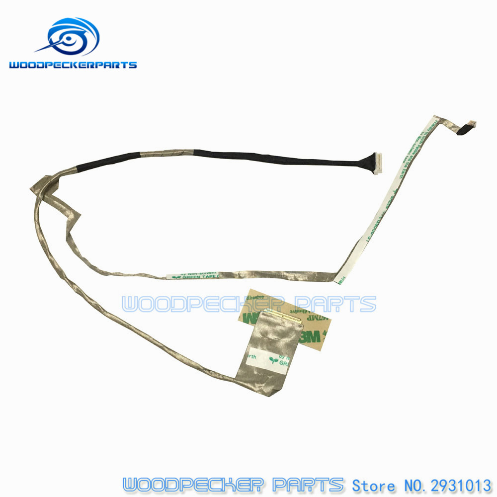 Free Shipping Laptop Genuine New LCD LVDS CMOS Video Flex Cable For Lenovo G570 G575 DC020015W10 F0866