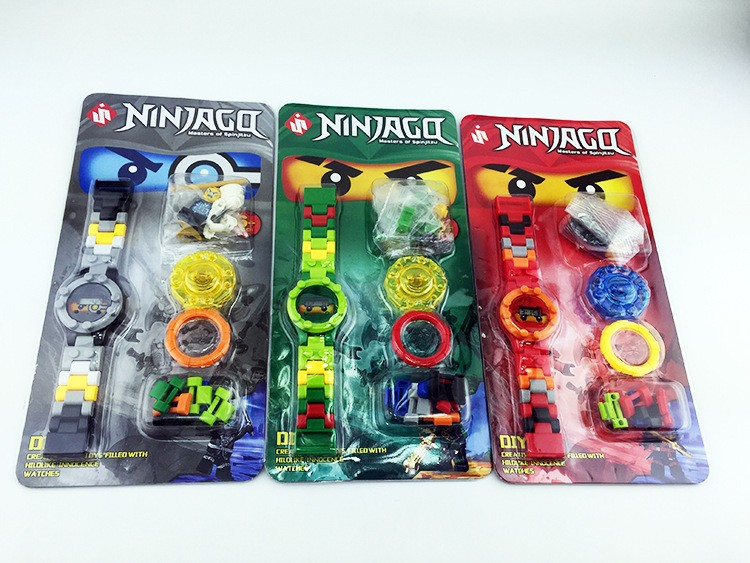 NINJAGOE mini Bricks Super hero ninjago mini Original box Watch Bricks Compatible lepin Toys for children gift цена