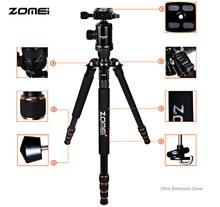 Newest Zomei Z688 Aluminum Professional Tripod Monopod + Ball Head For DSLR camera Portable / SLR Camera stand
