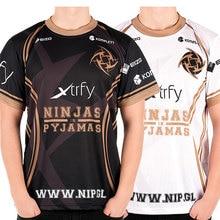 Game Team DOTA 2 Jersey Ninjas in Pyjamas T Shirt CSGO LOL DOTA2 short sleeve Men