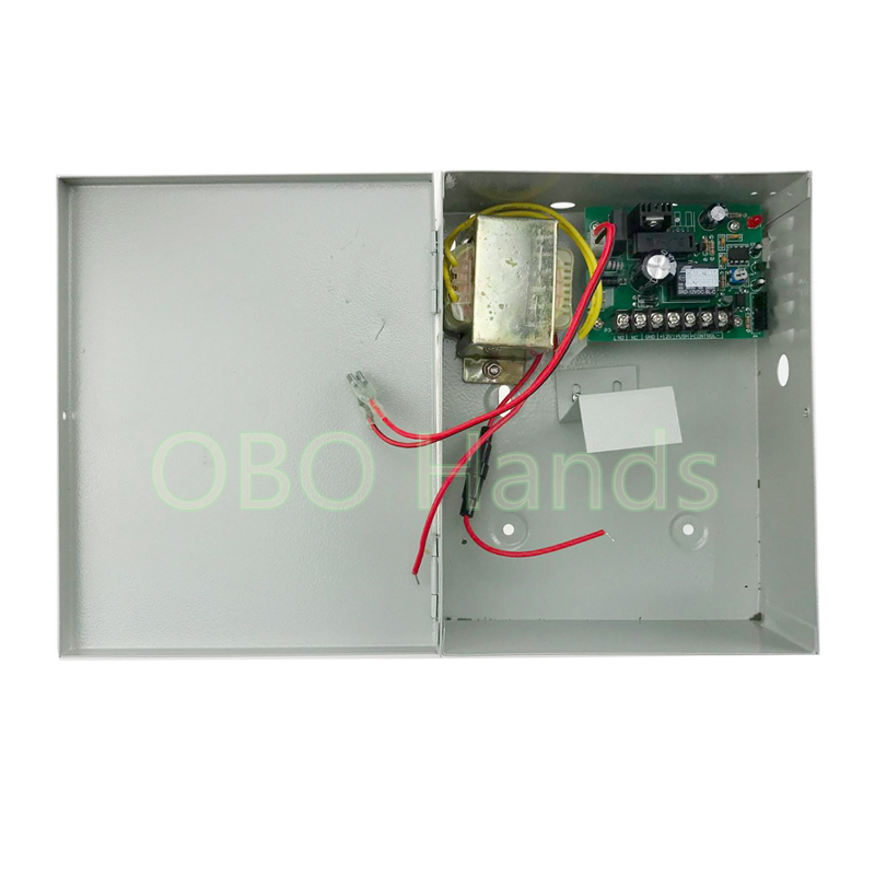 12V/3A UPS backup power supply box power adapter without <font><b>battery</b></font> for intercom system and kinds of access controller