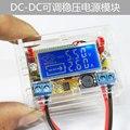 DC-DC регулируемый регулятор напряжения модуль питания ЖК напряжение ток метр дисплей Электронных DIY Комплекты Для Пайки
