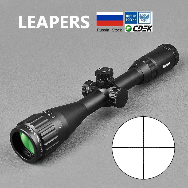 Tctical 3 9X40 Riflescope Tactical Optical Rifle Scope Red Green And Blue Dot Sight Illuminated Retical Sight For Hunting Scope-in Riflescopes from Sports & Entertainment