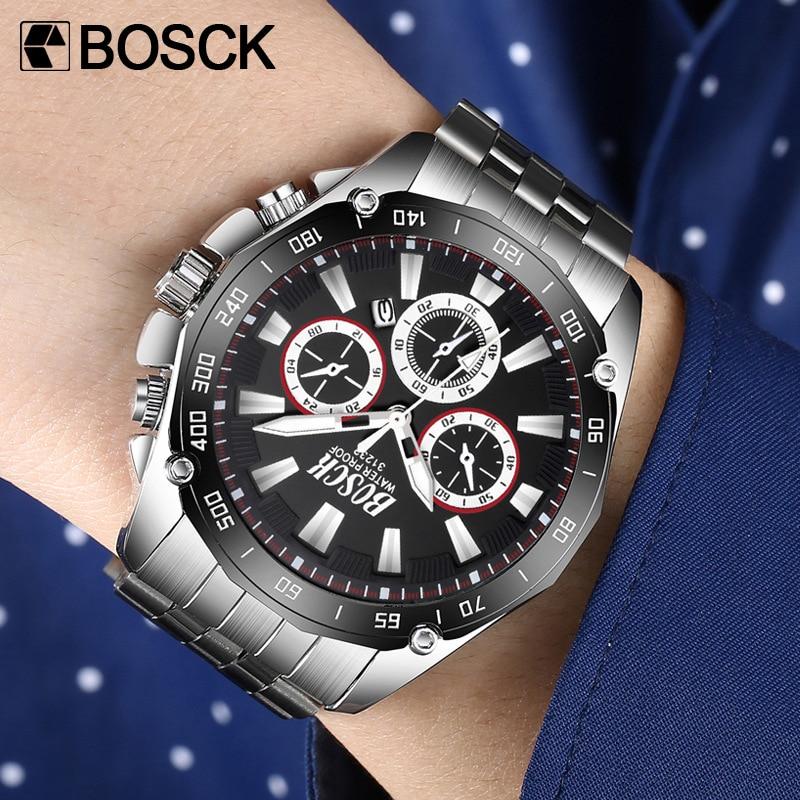 Luxury Brand Watch Men Sports Watches Waterproof Date Quartz-watch Mens Military Wristwatch Clock Male Relogio Masculino 2018