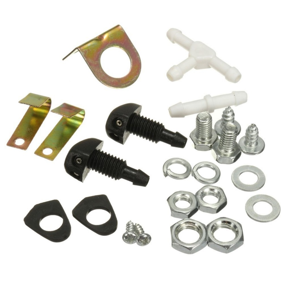 00e79fae926 12V Universal Classic Car Windshield Washer Reservoir Pump Bottle Kit Jet  Switch Clean Tool Easy Convenient to Use Hot Selling-in Car Washer from ...