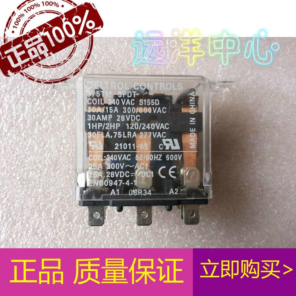375TM 3PDT      240VAC  21011-85375TM 3PDT      240VAC  21011-85