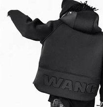 2016 New Arrival Mens Hoodies Sweatshirts Hip Hop WANG Hoodie Black Jacket Hiphop Men Clothes Fashion Chandal Hombre Marca