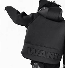 2017 New Arrival Mens Hoodies Sweatshirts Hip Hop WANG Hoodie Black Jacket Hiphop Men Clothes Fashion Chandal Hombre Marca