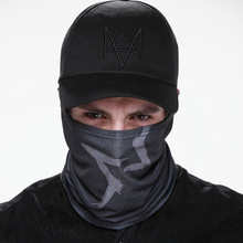 Watch Dogs маска для лица+ шапочка Aiden Pearce костюм для костюмированной игры, для Хэллоуина маски