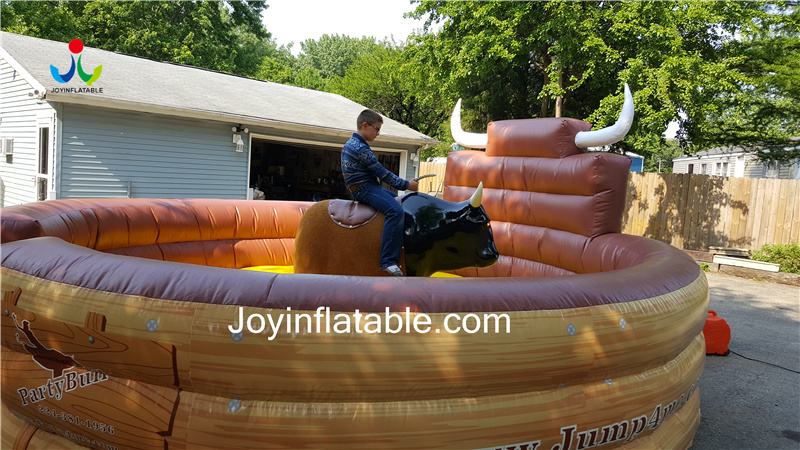 Diameter 5m Inflatable Mat Bull Ride For Sale 2