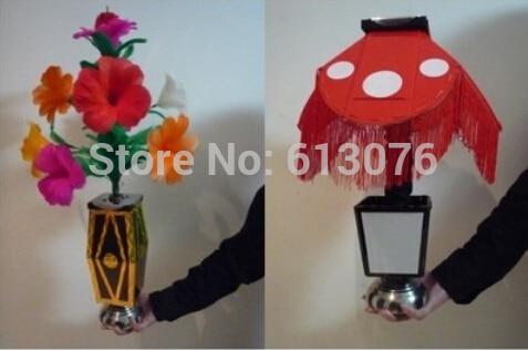 Instant Flower Vase to Night Lamp - Magic trick,bag magicmagic accessories,stage magic