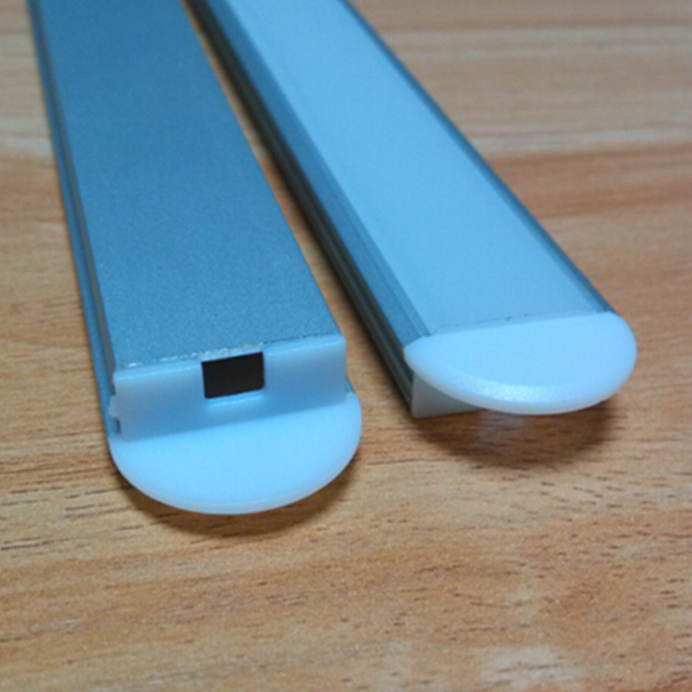 30m-es (30db), 1m-es darab led alumínium profil vékony SN2208-1m - LED Világítás