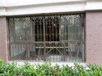 Ferforje çelik cam pencere, metal cam pencere ferforje windowswindow demir pencere ızgara tasarımı hc-w21
