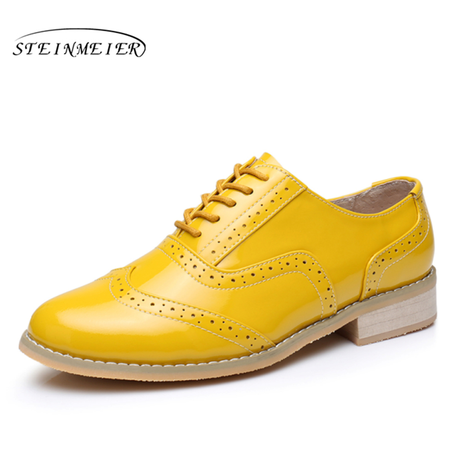 Men Genuine Leather Oxford Shoes Male Flats Handmade Vintage Retro Lace Up Loafers Brown Casual Sneakers Flat Shoes For Men