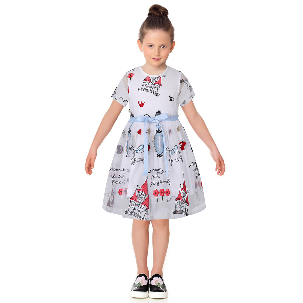 Подробнее о Robe Fille Enfant Toddler Girl Dresses Summer 2017 Brand Kids Dress with Sashes Character Princess Party Dress Girls Clothes 2016 summer girls dress girl children s clothes dress for girls dresses kids child baby robe fille enfant c bbf006a