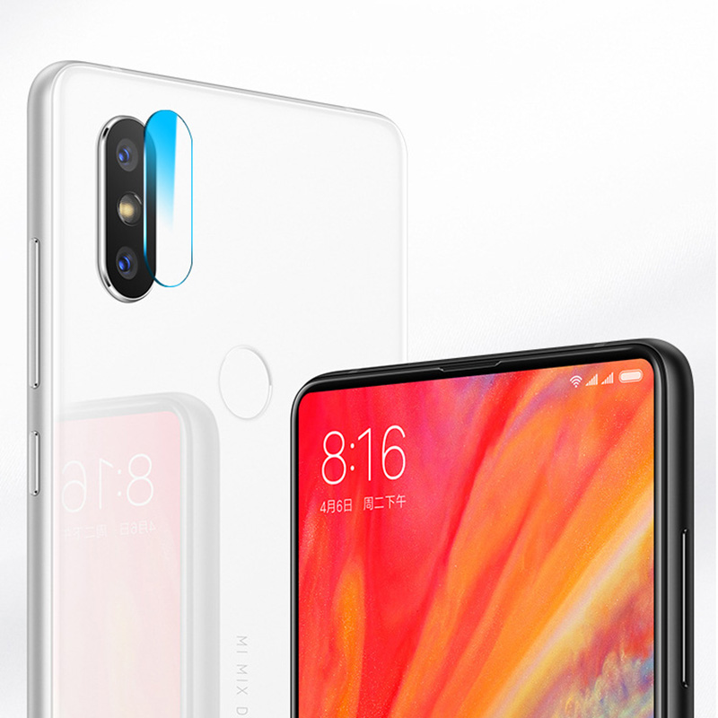 Dreamysow Back Camera Lens Tempered Glass For Xiaomi Mi 8 8SE 6X MAX Mix 6 Lens Tempered Glass Protective Protector Film