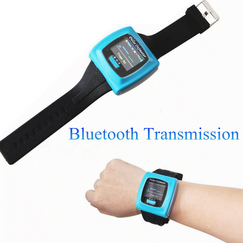 Wearable Pulse Oximeter CMS 50FW Wrist Pulse Oxygen SPO2 Monitor USB Bluetooth Wireless function, Software for PC,CE FDA
