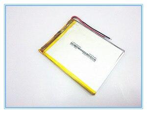 Image 2 - شحن مجاني جديد المادة 3.7 V ليثيوم بوليمر بطارية 2800 mah 406685 أماه بطارية الجهاز اللوحي