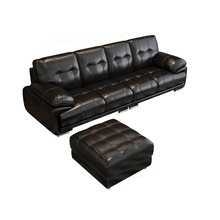 Maison Moderna Kanepe Asiento Sectional Puff Moderno Para Meble Couch Leather De Sala Mueble Set Living Room Furniture Sofa(China)