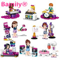 [Bainily] 1 unids Amigas Serie Bloques de Música de Piano Guitarra Tambor kit Bebé Juguetes Ladrillos Compatible con Legoe SIN CAJA