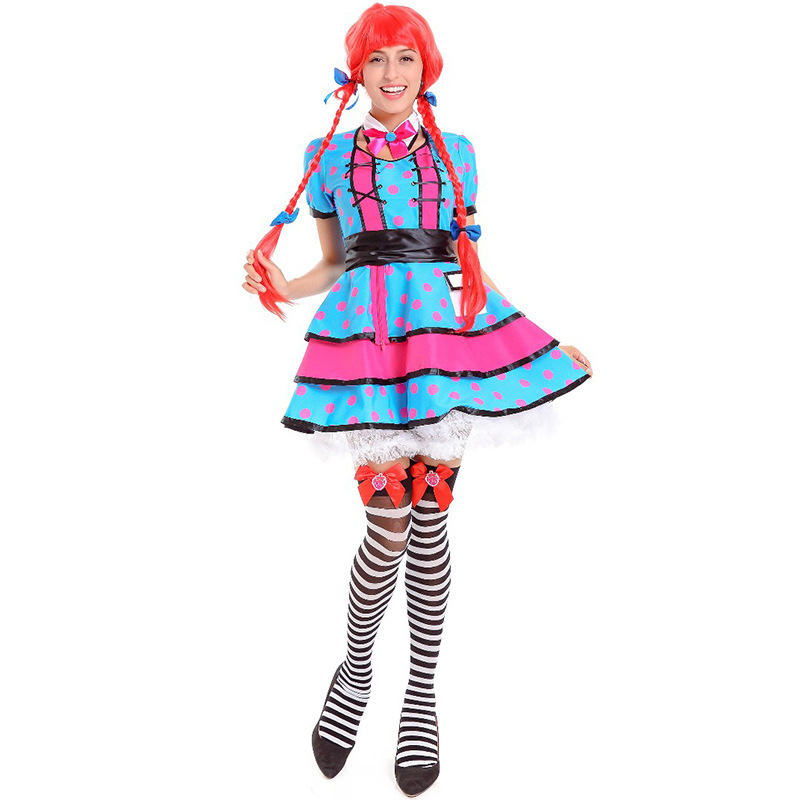 alice in wonderland costume halloween costumes for women plus size adult sexy circus costume maid Fancy dress party cosplay