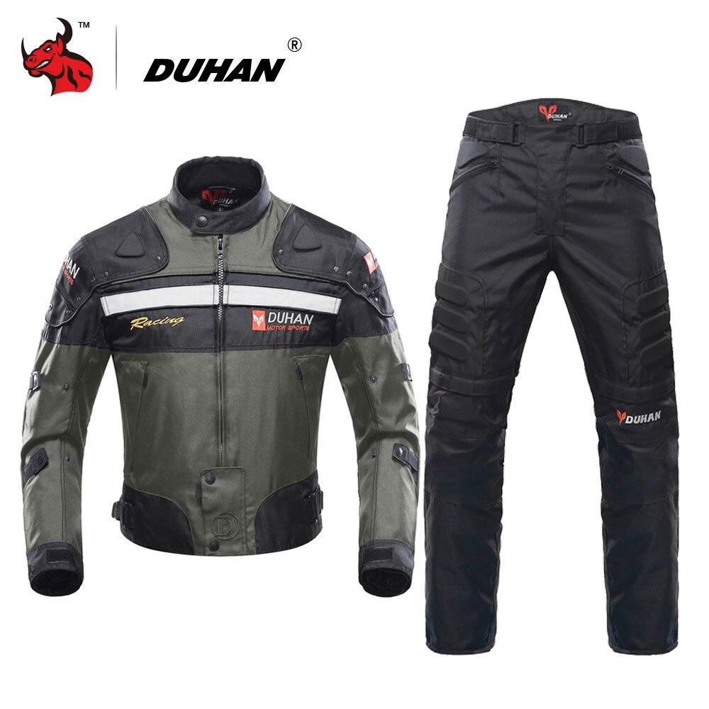 Духан мото куртки Мотокросс Off-Road мотоциклетная гоночна куртка защита Мото куртка мотоцикл ветрозащитный защитное снаряжение
