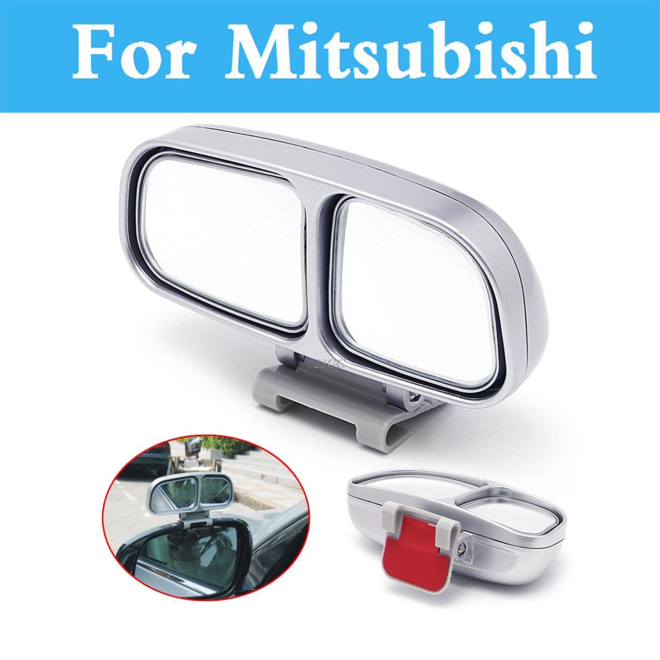 1Pc Auto Wide Angle Rear Mirror Car Blind Spot For Mitsubishi Colt Eclipse eK Attrage Carisma Challenger Endeavor Airtrek ASX
