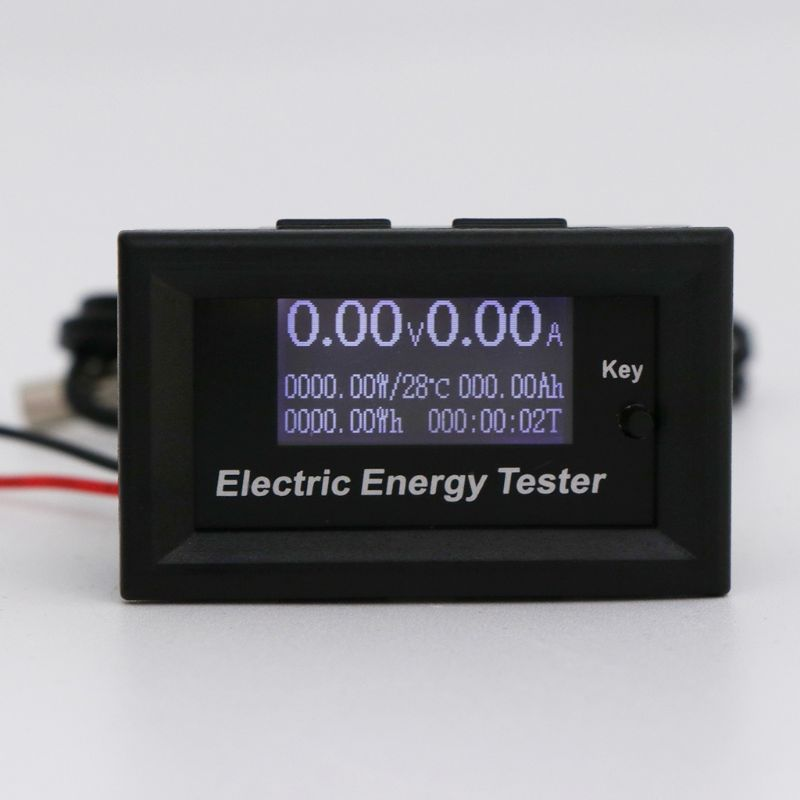 120V 20A Digital DC Voltmeter Current Voltage Meter LCD Energy Charger Tester Tools120V 20A Digital DC Voltmeter Current Voltage Meter LCD Energy Charger Tester Tools