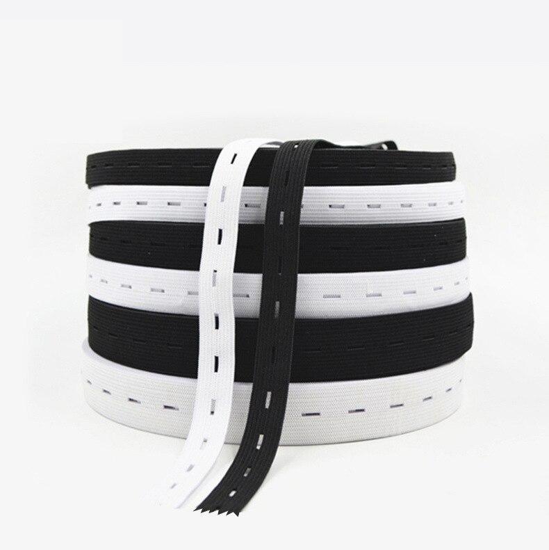 bandas de goma suave Ojal goma ojal cinta elástica ojal-elastic band