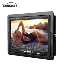 CARCHET автомобильный монитор дюймов 7 дюймов TFT ЖК-дисплей Автомобильный DVD CCTV Реверс заднего вида камера монитор PAL NTSC автомобильные мониторы камера DVD DC 12 В в 6 Вт