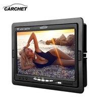 CARCHET Car Monitor 7 Inch TFT LCD Car DVD CCTV Reverse Rear View Camera Monitor PAL NTSC Car Monitors Camera DVD DC 12V 6W
