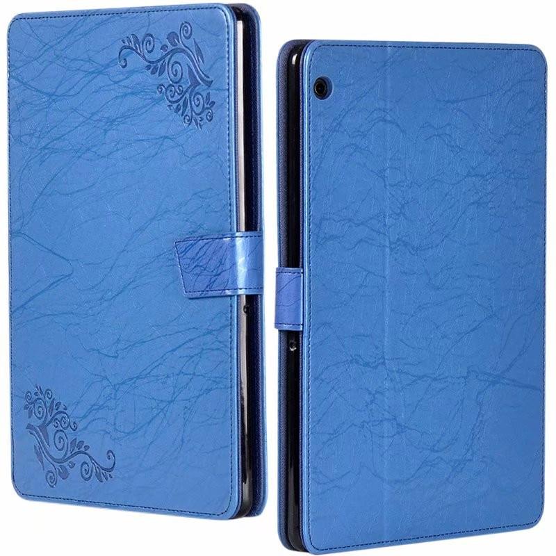 Stand Case For Huawei Mediapad T5 10 Flower Printed PU Leather Tablet Cover For Huawei Mediapad T5 10.1 AGS2-W09/L09/L03/W19
