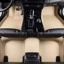 Автомобильные коврики для Toyota Tundra Sequoia 4runner 5D heavy duty all weather Car-styling коврики с облицовочными вставками (2008-сейчас)