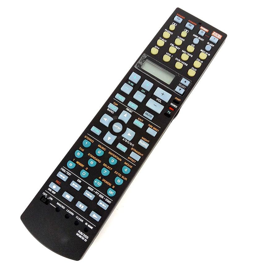 Remote control For Yamaha RAV355 fit for WE88730 EU RX-V4600 Home Theater System NEW ORIGINAL Fernbedienung universal remote control suitable for yamaha rav22 wg70720 home theater amplifier cd dvd rx v350 rx v357 rx v359 htr5830