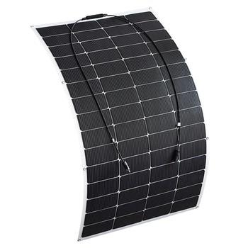 Xinpuguang Solar Panel Battery 145W 30V Flexible New Efficient Solar Cell for 12v 24V System DIY RV Car Marine Boat Home Charger