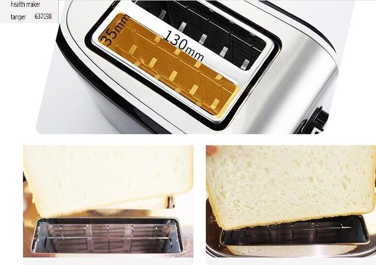 Chinafxunshi MD-401 Нержавеющая Сталь Многофункциональная хлеб тостер, завтрак запеченные в духовке бытовой для аппарата для приготовления завтрака 110-220-240v