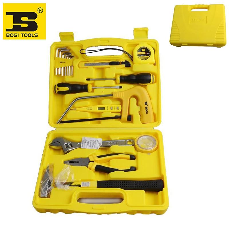 ФОТО wholesale 18 in 1 case household tool kit BOSI brand new