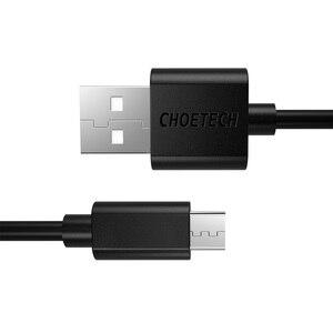 Image 5 - CHOETECH 10 יח\חבילה מיקרו USB כבל 5V 2.4A מיקרו USB נתונים סנכרון וטעינה נייד טלפון כבלי 1.2M עבור אנדרואיד טלפון Tablet