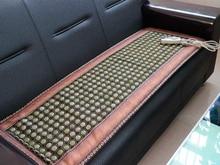 Hottest!!Tourmaline Heat Cushion Natural Jade Physical Therapy Mat Yoga Heat Cushion Health Care Cushion 150x50cm Free Shipping