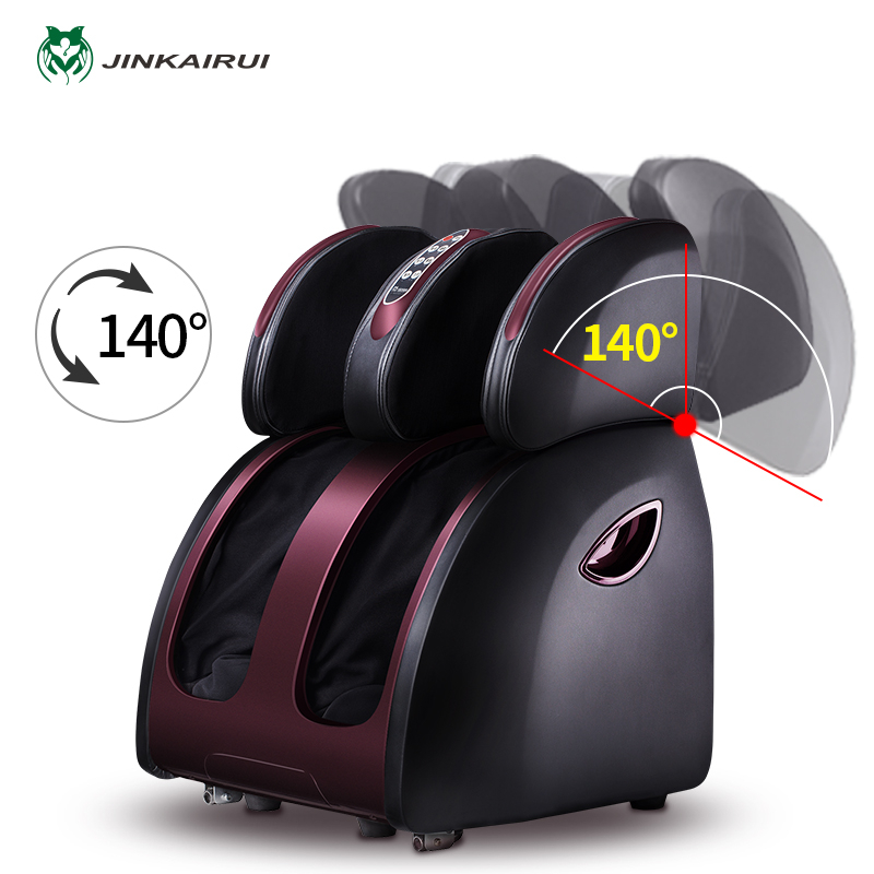 Jinkairui Elétrica Shiatsu Massager Do Pé e Panturrilha Massagem De Compressão De Ar Para Massageador de Pés Bezerro Aquecida Estúdio de Saúde para Uso Doméstico