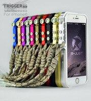 4th Design Aluminium Alloy Bumper For Apple Iphone 6 Metal Armor Phone Case For Iphone6 4