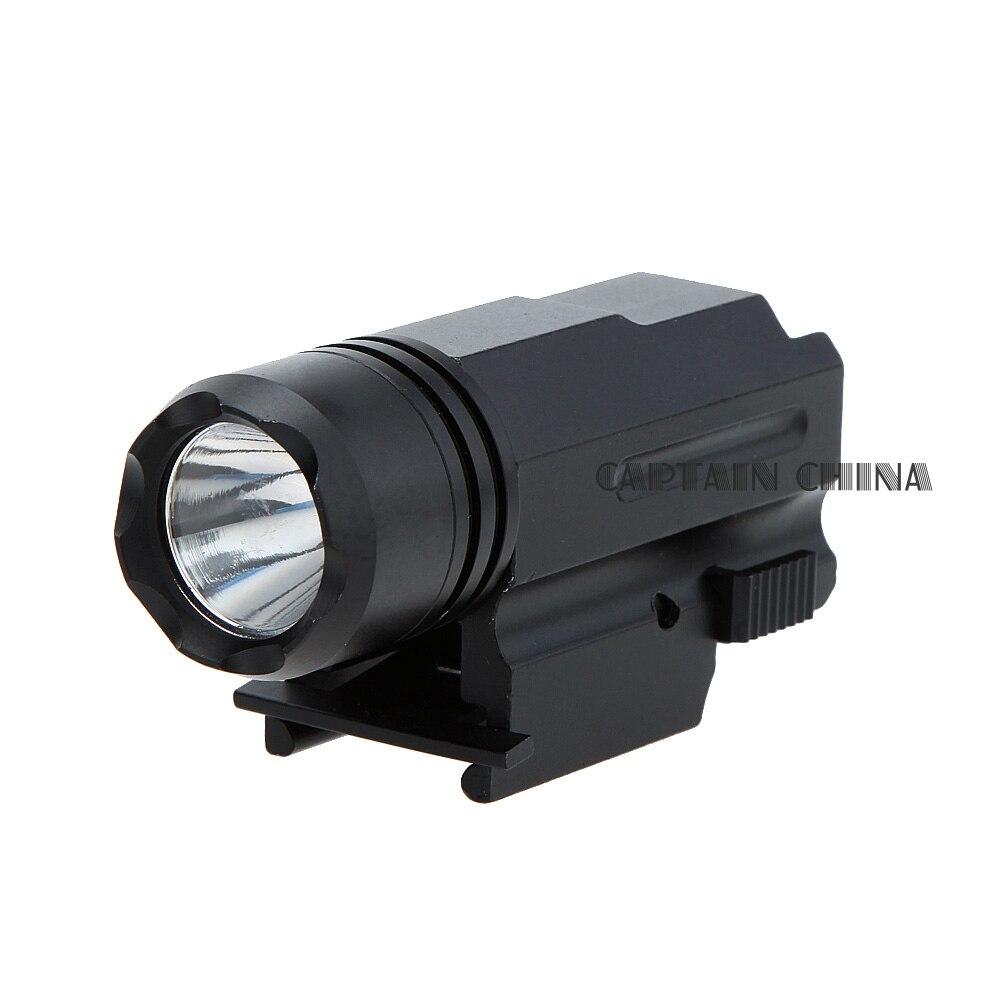 Escopeta LED Rifle Glock Gun Flash Light Tactical Torch Linterna con - Caza - foto 4