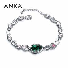 Free shipping Korea Style Bracelet Fashion Water Drop Crystal bracelets & bangles for women Made With Swarovski Elements #108688