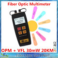 New FTTH Fiber Optical Power Meter and Light Source Fiber Optic Cable Tester VFL Visual Fault locator 30mw Finder Checker 20KM