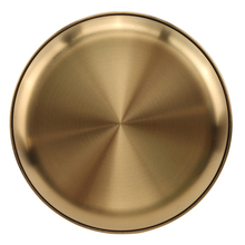 Eco-Friendly 304 Stainless Steel Dinner Plates Gold Dessert Dishes Salad Round Plate Cake Tray Western Steak Round Tray