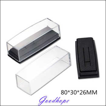 Wholesale 120pcs Clear Cover Box for Tie Clip Pin Gift Boxes Wedding Engagement Favours Stickpin Display & Packaging Casket - DISCOUNT ITEM  5% OFF All Category