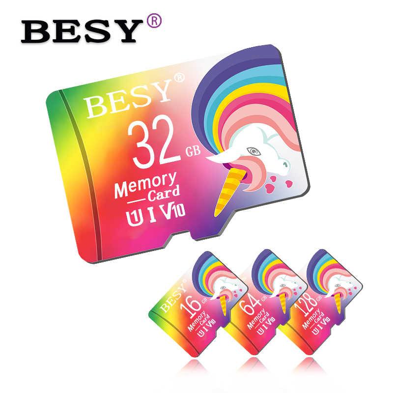 Wysokiej prędkości stworzyć Microsd 8GB 16GB karta Micro SD o pojemności 32GB 64GB pamięci 128GB karty Mini karty SD 64GB cartao de pamięci bezpłatny adapter