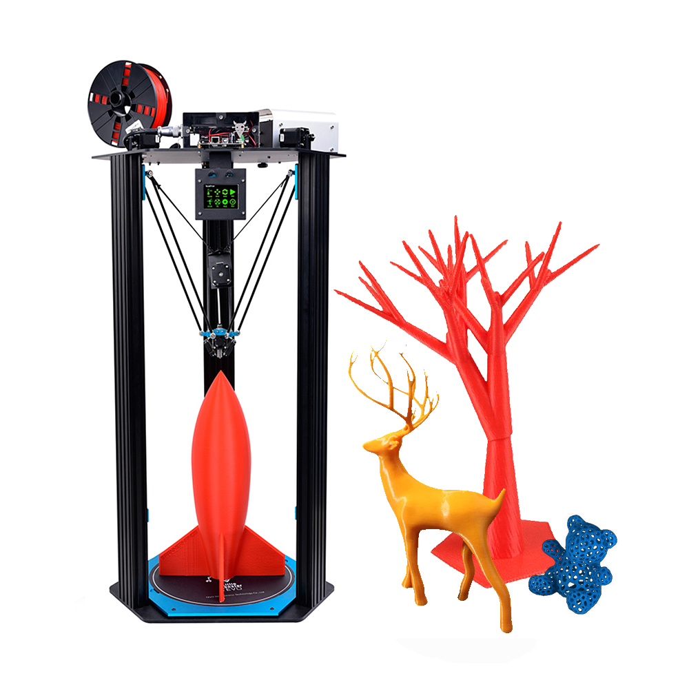 2017 Newest TEVO3D Printer kits Delta Printing Area D340xH500mm OpenBuilds Extrusion Smoothieware MKS TFT28 Bltouch High