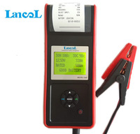 Automotive Diagnostic tools cca 12V Car vehicle Battery Tester analyzer Built in Thermal Printer for AGM GEL Lead acid